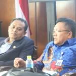 para kepala biro dalam kunjungan dari universitas sriwijaya