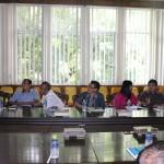 penerima kunjungan dari universitas sriwijaya