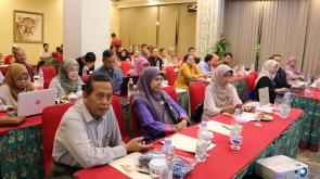 Para peserta workshop dari Kabag, Kasubag dan staf BUK